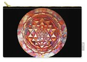 Mini Sri Yantra Kupfer Lichtmandala  Carry-all Pouch by Robert Thalmeier