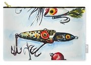 Mini Study- Fishing Lures Carry-all Pouch