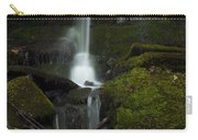 Mini Waterfall In The Forest Carry-all Pouch