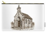 Miniature Church Of Froberville Carry-all Pouch