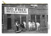 Miniature Golf At Tailor Shop Carry-all Pouch