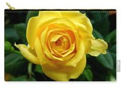 Miniature Yellow Rose Carry-all Pouch