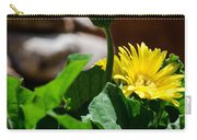 Miniature Yellow Gerbera Daisies Carry-all Pouch