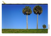 Minimal Palm Trees On A Hill In Saint Augustine Florida Carry-all Pouch