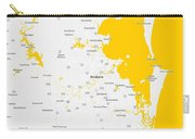 Minimalist Modern Map Of Brisbane, Australia 5 Carry-all Pouch