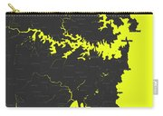 Minimalist Modern Map Of Sydney, Australia 8 Carry-all Pouch by Celestial Images