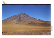 Miniques Volcano And High Altitude Desert Chile Carry-all Pouch
