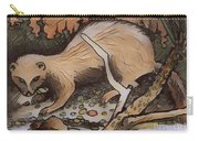 Mink At The Brook Carry-all Pouch