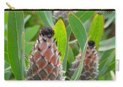 Mink Protea Flower Carry-all Pouch
