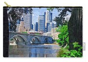 Minneapolis Through The Trees Carry-all Pouch