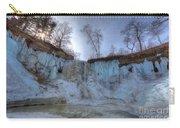 Minnehaha Falls Minneapolis Minnesota Winter Morning Carry-all Pouch