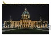 Minnesota Capital At Night Carry-all Pouch