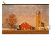 Minnesota Farm At Sunset Carry-all Pouch