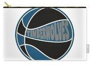 Minnesota Timberwolves Retro Shirt Carry-all Pouch