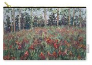 Minnesota Wildflowers Carry-all Pouch by Nadine Rippelmeyer