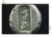 Minotaur On A Greek Coin Carry-all Pouch