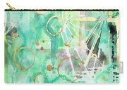 Mint Bling Carry-all Pouch