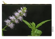 Mint Flower Carry-all Pouch