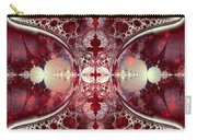 Mirror Gateway / Crop / Red Stars Carry-all Pouch