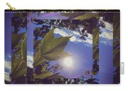Mirrored Leaf Carry-all Pouch