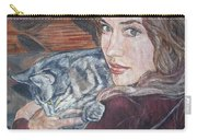 Misha The Cat Woman Carry-all Pouch