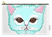 Miss Kitty - Cute Cat Carry-all Pouch