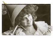 Miss Marie Studholme As Lady Madcap 1905 Carry-all Pouch