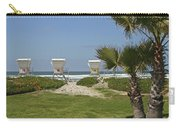 Mission Beach Shelters Carry-all Pouch
