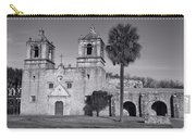 Mission Concepcion -- Bw Carry-all Pouch