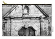 Mission Concepcion Entrance - Bw Carry-all Pouch