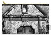 Mission Concepcion Front - Classic Bw Carry-all Pouch