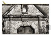 Mission Concepcion - Bw Toned Border Carry-all Pouch