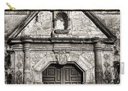 Mission Concepcion Front - Toned Bw Carry-all Pouch
