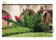 Mission San Jose' Flora Beauty Carry-all Pouch