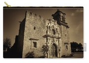 Mission San Jose - Sepia Carry-all Pouch