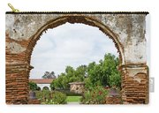 Mission San Luis Rey Carriage Arch Carry-all Pouch