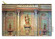 Mission San Miguel Arcangel Altar, San Miguel, California Carry-all Pouch