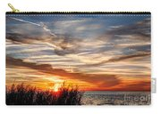 Mississippi Gulf Coast Sunset Carry-all Pouch