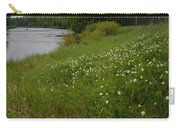 Mississippi River Bank Flowers Carry-all Pouch