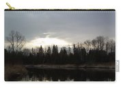 Mississippi River Dawn Clouds Carry-all Pouch