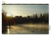 Mississippi River Dawn Light Rays Carry-all Pouch