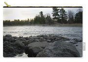 Mississippi River Dawn Over The Rocks Carry-all Pouch
