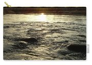 Mississippi River Dawn Reflection Carry-all Pouch