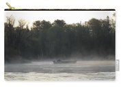 Mississippi River Fisherman At Dawn Carry-all Pouch