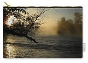 Mississippi River Foggy June Sunrise Carry-all Pouch