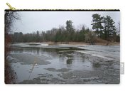 Mississippi River Ice Flow Carry-all Pouch