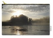 Mississippi River June Sunrise Reflection Carry-all Pouch