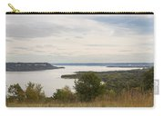 Mississippi River Lake Pepin 10 Carry-all Pouch