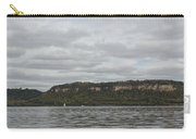Mississippi River Lake Pepin 6 Carry-all Pouch