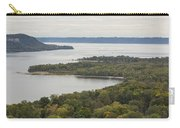 Mississippi River Lake Pepin 7 Carry-all Pouch